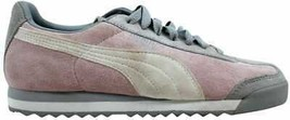 Puma Roma Pigskin EXT Cradle Pink/Vapor Blue-White 341959 17 Women's SZ 6 - $40.50