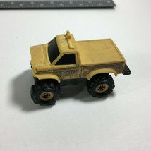 Vintage Stomper 4x4 S10 Yellow Truck Toy 4WD Schaper MFG Co. Made in USA - $11.63