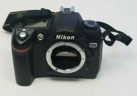 Nikon D D70 6.1MP Digital SLR Camera Black BODY ONLY Untested For Parts - $19.79