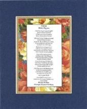 Touching and Heartfelt Poem for Mothers - [A Special Mother's Day poem ]... - $15.79