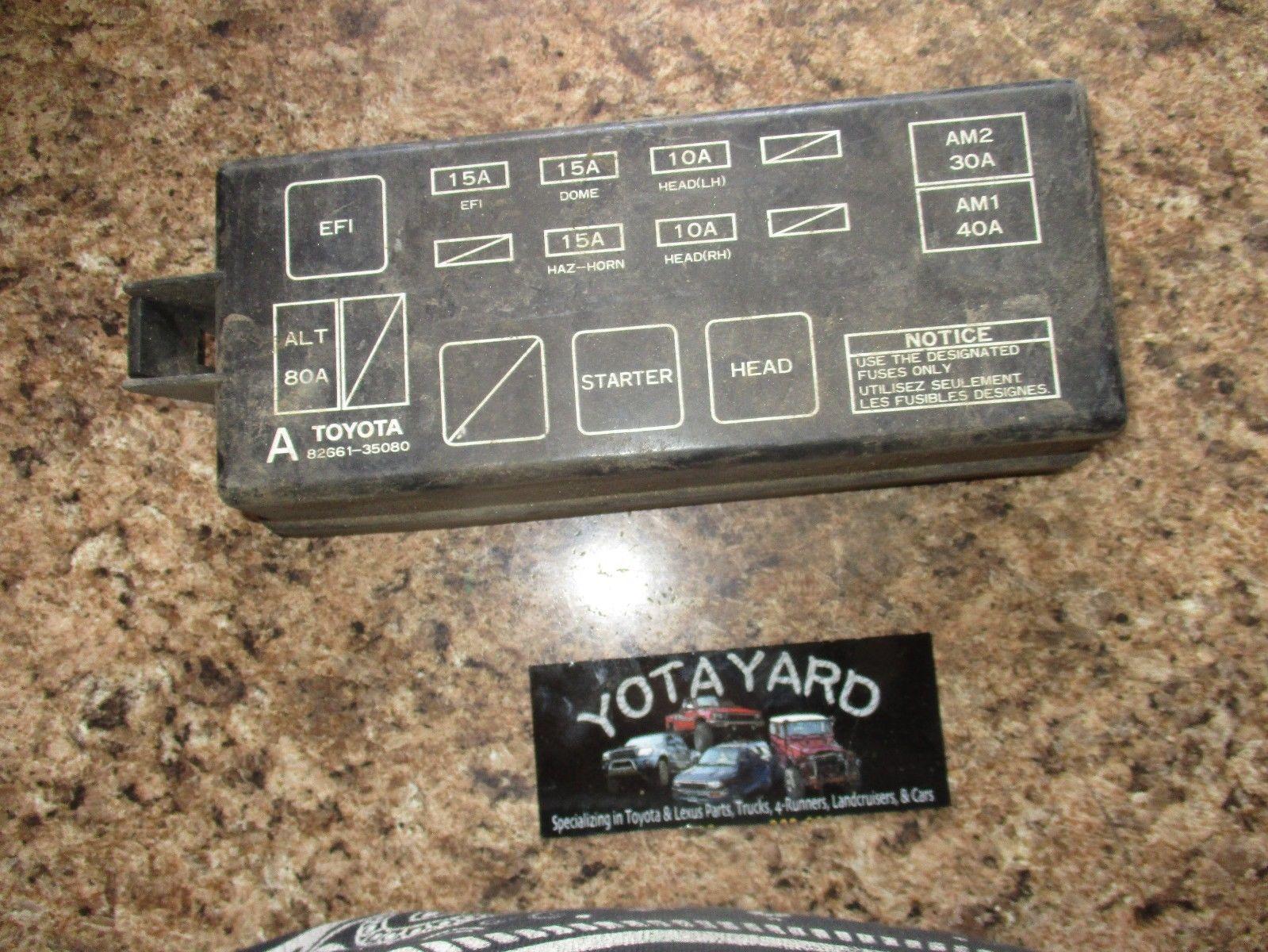 2003 4runner Fuse Lid Wiring Diagram 2004 Toyota Box 90 95 Pickup And 50 Similar Items Rh Bonanza Com 2000
