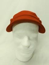 Vintage Betmar New York Hat Red Felt Unique Design - ₨2,073.10 INR