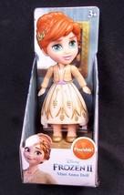 """Disney Frozen II Mini ANNA in brown dress 3"""" poseable figure NEW - $9.70"""