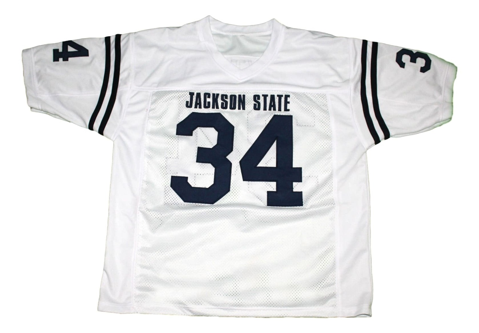 Walter Payton #34 Jackson State New Men Football Jersey White Any Size