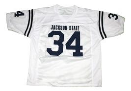 Walter Payton #34 Jackson State New Men Football Jersey White Any Size image 1