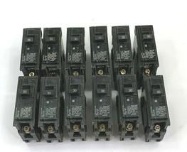 Lot of 12  Siemens ITE Q130 30 Amp 120/240 VAC 1 Pole Circuit Breaker Type QP - $42.08