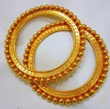 22K VINTAGE ANTIQUE TRIBAL OLD 22CT GOLD BRACELET BANGLE PATHA RAJASTHAN... - $3,792.68