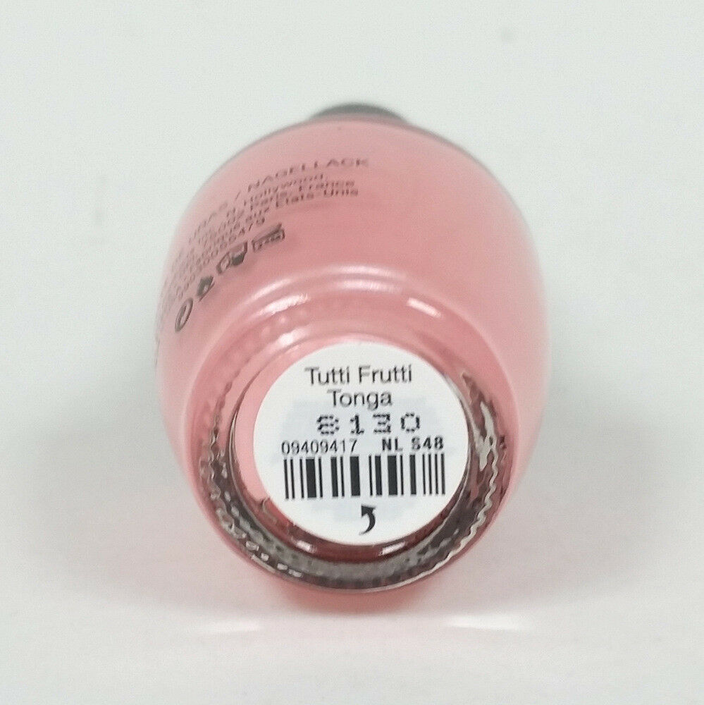 OPI Nail Polish Tutti Frutti Tonga NL S48 100% Authentic Pink Pearl Color