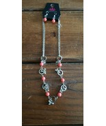 Paparazzi Short Necklace & Earring set (new) #271 SALMON HOOPS - $7.61