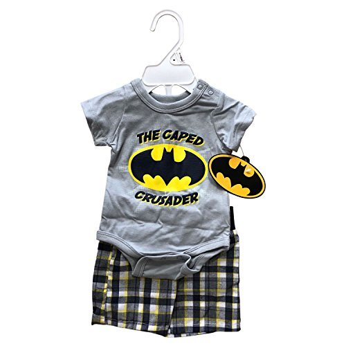 Primary image for Disney Mickey Mouse or Batman 2 Pieces Newborn Set (Creeper + Bermuda),100% Cott