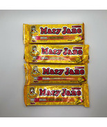 Necco Mary Jane Candy Bar 4 Bars X 5 Pieces ea Discontinued Rare HTF - $44.55