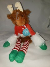 Manhattan Toy Twiggies Holiday Moose Plush Toy 16.5 inches - $6.73