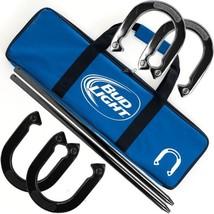 Bud Light Horseshoe Set with Carrying Case - $46.65