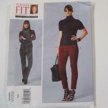 Todays Fit Vogue Pants Pattern V1411 Sandra Betzina Size OSZ Uncut image 3