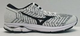 Women's Mizuno Waveknit R2 US Size 6.5 White and Black Running Shoes - $54.44