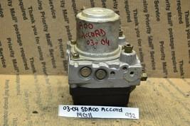 2003 2004 Honda Accord 2.4L ABS Pump Control SDA00 Module 932-14g11 - $9.99
