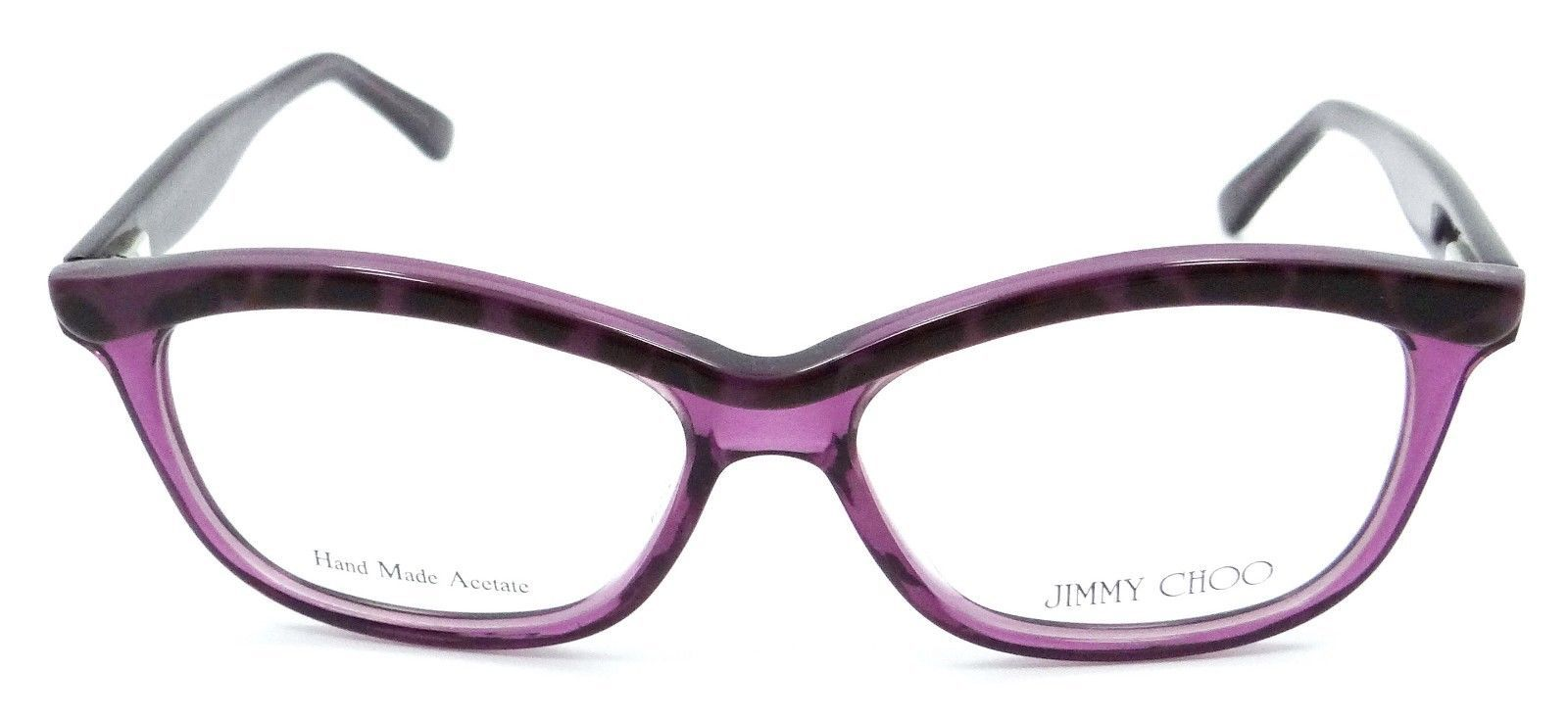 93edd5e149 Jimmy Choo Rx Eyeglasses Frames JC 69 XC1 51-14-135 Panther Violet Made
