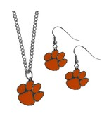 N tigers dangle earrings and chain necklace set default title jademoghul 3656950808680 thumbtall