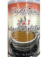 CAFVINA Coffee & Tea 3 in 1 Instant Vietnamese Style Coffee Mix 1lb 4oz - $24.74