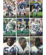 (9) 1995 Upper Deck (Indianapolis Colts Complete Team Set) See Scans! - $1.35
