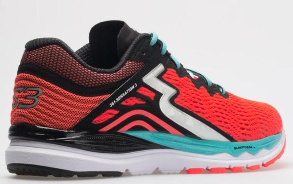 361 Degrees Sensation 3 Size US 7.5 M (B) EU 39 Women's Running Shoes Y852-9309