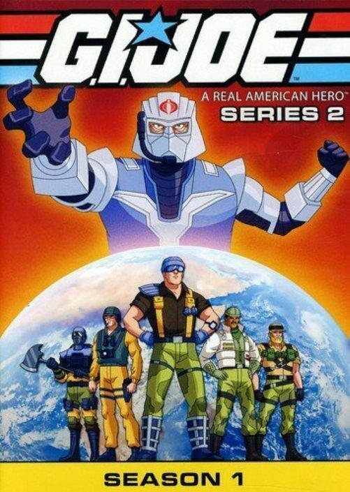 GI Joe Real American Hero: Series 2 Season 1 (DVD, 4-Discs) NEW/UPC Code Removed