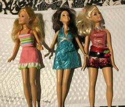 Three Teenage Doll Lot  - $15.99