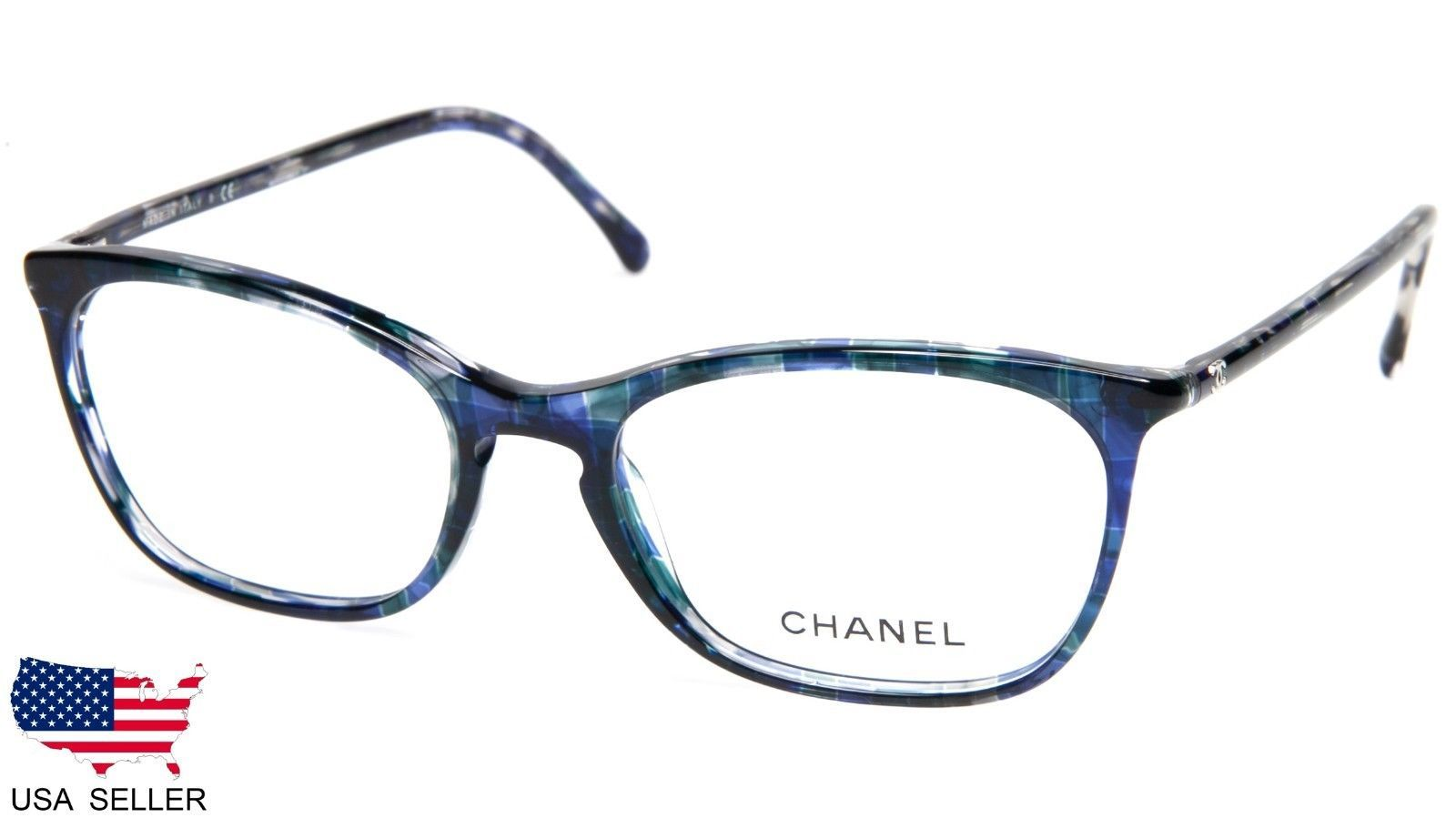 18fa09155a New Chanel 3281 C. 1490 Blue Eyeglasses and 50 similar items. 57