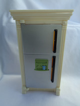 2008 Fisher Price Loving Family Dollhouse Replacement Kitchen Refrigerator - $8.17