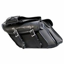 Plain Motorcycle Saddlebags for Harley Davidson Dyna Motorcycles - $94.00