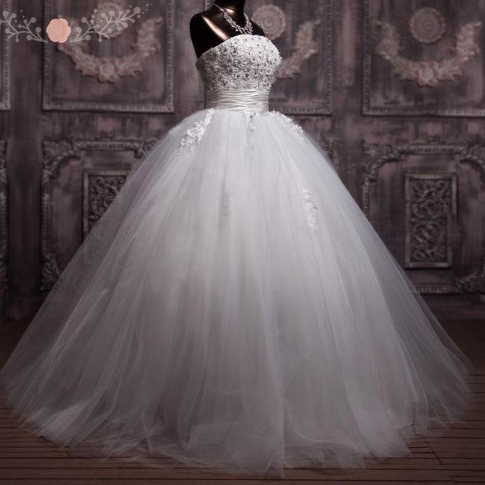 Ral lace corset wedding ball gown puffy princess wedding dress debutante dress vestidos de noiva