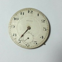 ROCAIL Vintage Winding Pocket Watch Movement 41 mm Swiss Made Running - $37.39