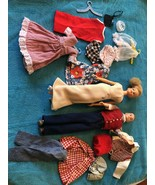 VINTAGE IDEAL 1960's Original TAMMY & Tressy Dolls, Labeled Clothes & Ex... - $148.49