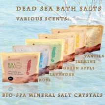 Dead Sea Bio Spa Mineral Bath Salt Crystals Nat... - $14.90