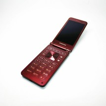 Samsung Galaxy Folder 2 Red Wine Factory Unlocked G165N Single SIM 3G ONLY USED image 1