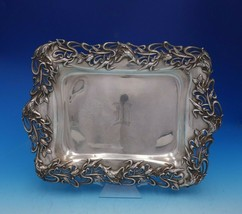Iris by Redlich and Co Sterling Silver Serving Tray with Feet Pcd #5867 ... - $1,959.00