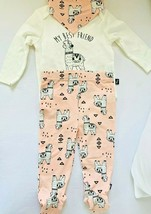 Mini Heroes Baby Girl's 3-Pieces Bodysuit, Pants and bandana/ Bids Pink ... - $11.00