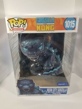 Funko POP Godzilla vs. Kong Neon City Godzilla Walmart Exclusive Imperfe... - $79.15