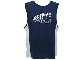 Mixed Martial Arts MMA evolution moisture wicking polyester muscle gym t... - $12.99