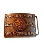Vintage S. P.O.Qualität Kreise Problemlöser Mannschaften Kerr Mcgee - $97.00