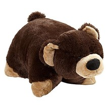 Pillow Pets Bear Stuffed Plush Toy for Sleep, Play, Travel, and Comfort... - $48.99