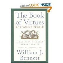 The Book of Virtues for Young People [Paperback] William J. Bennett image 1