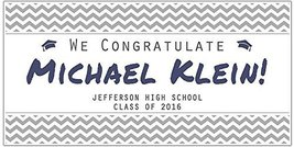 Graduation Banner Class of 2017 Personalized Backdrop - £16.57 GBP