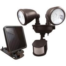 MAXSA Innovations 44216 Dual-Head Solar Spotlight (Dark Bronze) - $66.13