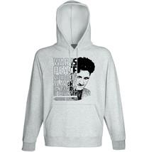 George Orwell - War Is Peace - New Cotton Grey Hoodie - $31.88