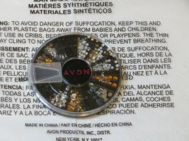 Avon Uña Gemas Contenedor Uña Gemas Mani Pedi F3951961 Nuevo - $16.03
