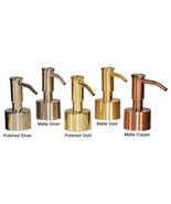 Mike and Ally Pump Dispenser Top Replacements - Gold, Silver or Copper - £21.78 GBP