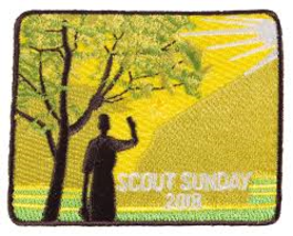 Scout Sunday 2018 Badge #6415 - $6.99
