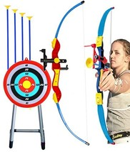 """Toy Bow & Arrow Archery for Kids 32"""" with Target & Quiver, Suction - $89.44"""