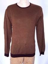 Polo ralph Lauren Sweater Brown Herringbone Santa Barbara SZ XL NWT $198 - $80.97